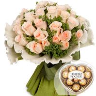 꽃다발+초콜릿 t2